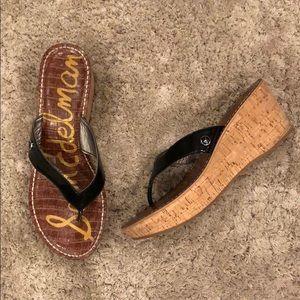 "Sam Edelman ""Romy"" Wedge Thong Sandal"
